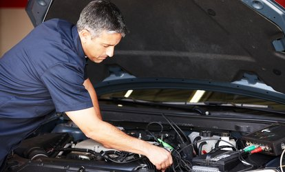 Major Service + Oil & Filter Change ($69) + 2 ($175) or 4 Brake Pad Replacements ($275) at AF Motors (Up to $847 Value)