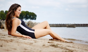 Lux Spa & Lash Bar: One or Three St. Tropez Airbrush Tanning Sessions at Lux Spa & Lash Bar (Up to 62% Off)