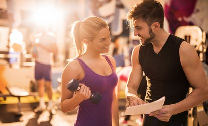 image for One, Three, or Five <strong>Personal</strong> Training Sessions at Snap Fitness (Up to 83% Off)