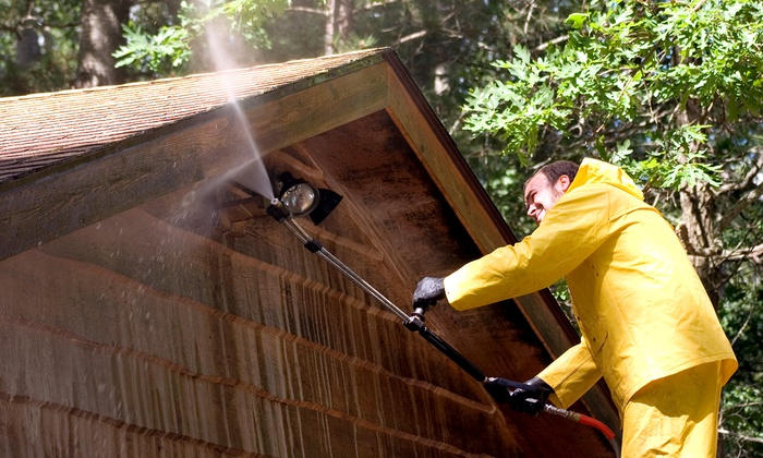 Taulman Services LLC - Morgan Mill: Pressure Washing for a One- or Two-Story House or Driveway from Taulman Services LLC (Up to 62% Off)