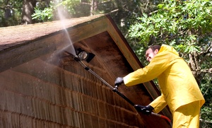 Taulman Services LLC: Pressure Washing for a One- or Two-Story House or Driveway from Taulman Services LLC (Up to 62% Off)