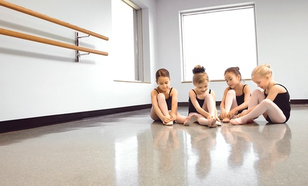 10 Weekly Dance Lessons for One or Two Kids at Zemskov Dance Academy (74% Off)