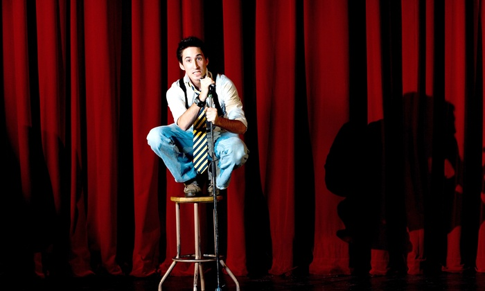 Sandy Station - Sandy Station: $40 for 2 Comedy Show Tickets Plus 2 Entrees and a $10 Drink Voucher ($73.90 Value)