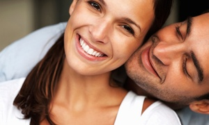 Bright White Smile Studio- Carrollton: LED Teeth-Whitening Treatment with Optional Enamel Protector at Bright White Smile Studio (Up to 82% Off)