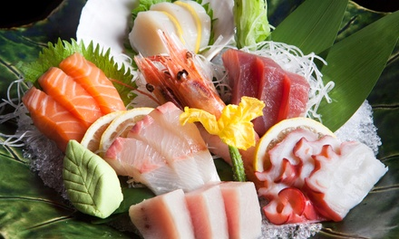 Sushi and Japanese Food for Dinner or Lunch for Two at Sushi Village (Up to 50% Off)