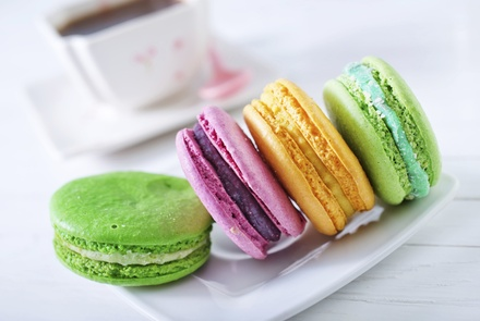 One or Two Dozen Macarons at Marky's Caviar & Gourmet Food Store (50% Off)