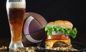 Cheerz Sports Grill: Sports-Bar Food for Two or Four at Cheerz Sports Grill (55% Off)