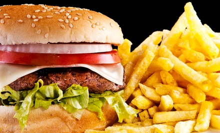 $12 for $20 Worth of Burgers and Drinks at Jolly Boy Burgers