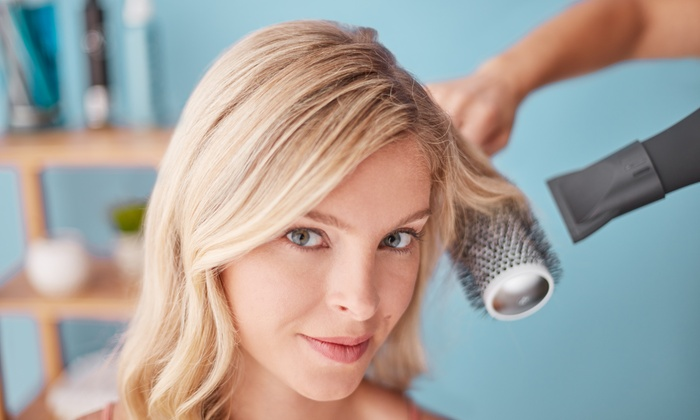 Salon Enigma - Salon Enigma: Haircut with Optional Highlights or Color Touch-Up at Salon Enigma (Up to 50% Off). Four Options Available.