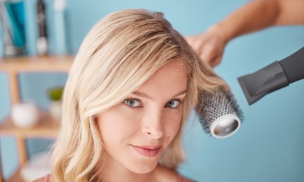 Wash, Cut, Blow-Dry and Conditioning at Cyan BeautyStudios (53% Off)