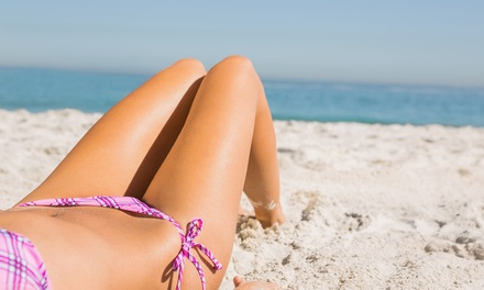 One or Three Bikini or Brazilian Sugaring Treatment Sessions at Divine Shears & Spa (Up to 53% Off)