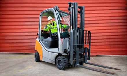 $249 for an Accredited TLILIC2001A Forklift Licence Course with Mobile Plant Operator Training Services ($500 Value)
