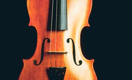 $price for Four Private Musical Instrument Lessons at Riverside School of Music ($200 value)