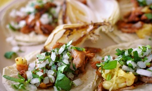 Tortilleria Garcia: $11 for 2 Groupons, Each Good for $10 Worth of Tacos & Tortillas at Tortilleria Garcia ($20 Total Value)