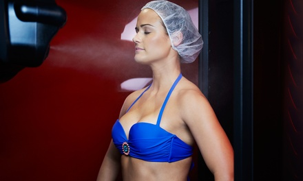 One Spray Tan or 10 or 20 Level 1 Tanning Bed Sessions at VersaTan (Up to 57% Off)