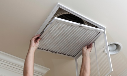 Whole House Air Duct and Dryer Vent Cleaning with Furnace Check-Up from Austin Duct Cleaning (82% Off)