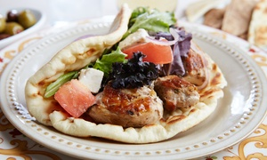 $10 for $24 Worth of Greek Food and Drinks for Two at Eat Greek