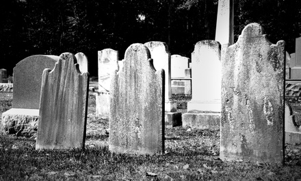 Cemetery Walking Tour, Pirates Riverboat Cruise, or Both for One from Grim Philly Twilight Tours (Up to 51% Off)