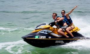 Prod'Jet: Randonnée en jet ski d'1h pour 1 ou 2 personnes à 89 € chez Prod'Jet