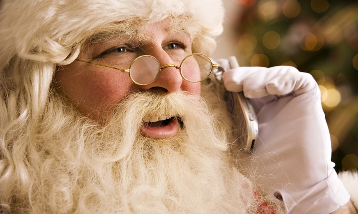 Santa's Texts: Daily Santa Messages for Two or Four Phone Numbers or Email Addresses from Santa's Texts (Up to 50% Off)