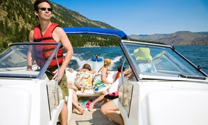 South River Boat Rentals: $239 for Powerboat Rental with Inner Tube and Water Skis from South River Boat Rentals ($540 Value)