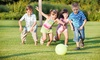 Playball Superstars - Multiple Locations: Four-Hour Day Camp at Playball Superstars (37% Off)