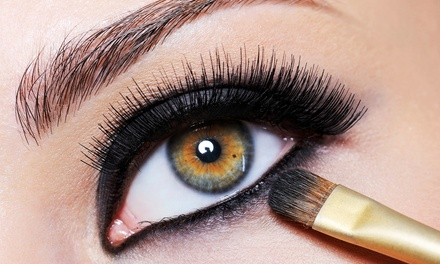 Permanent Eyeliner for Upper, Lower, or Both Lids, or Permanent Brow Makeup at Beauty Connection (Up to 67% Off)