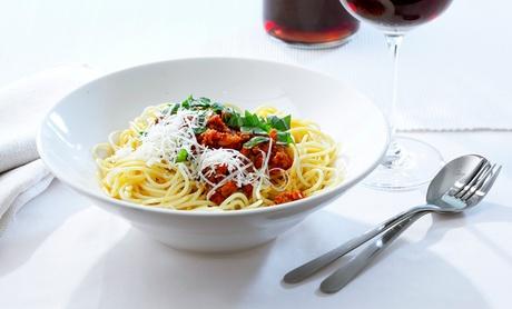 Menú italiano para 2 o 4 con entrante, principal, postre y bebida desde 24,95 € en Nazzaro