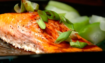 $40 for Dinner for Two with an Appetizer, Salads, and Entrees at Pearl Restaurant (Up to $80.75 Value)