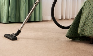 Dry in 20: Organic Carpet Cleaning for 3 or 5 Bedrooms and Stairs, Hallway from Dry in 20 Carpet Cleaning (Up to 65% Off)