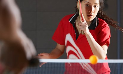 image for One or Four 60-Minute Group Table <strong>Tennis</strong> Lessons for One at Academy of Creative Arts (Up to 53% Off)