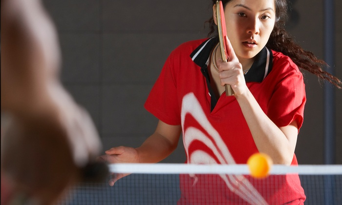 AMDT Ping Pong Center - North Beach: $74 for Two Hours of Group Ping-Pong Lessons for Up to 10 at AMDT Ping Pong Center ($200 Value)