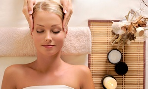 Pure Spa: $129 for a Massage, Facial, Spa Pedi, and Brow Wax with a Wine & Cheese Platter at Pure Spa ($250 Value)