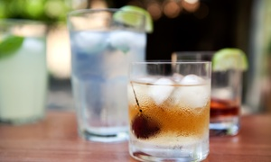 The Hub Sobe: Cocktails and Drinks at The Hub Sobe (40% Off). Two Options Available.