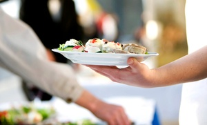 Fleischerei Löken: Catering für 5, 10 oder 20 Personen mit Rindergulasch, Hähnchenpfanne und Schweinebraten von der Fleischerei Löken