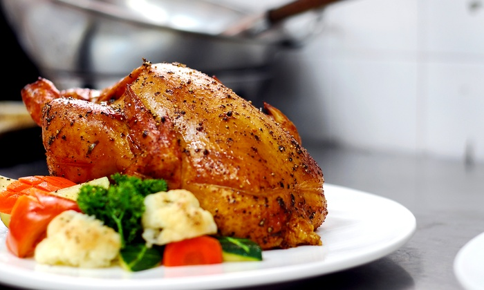 Tigeorges' Chicken - Westlake: Chicken and Haitian Cuisine at Tigeorges' Chicken (Up to 40% Off). Three Options Available.