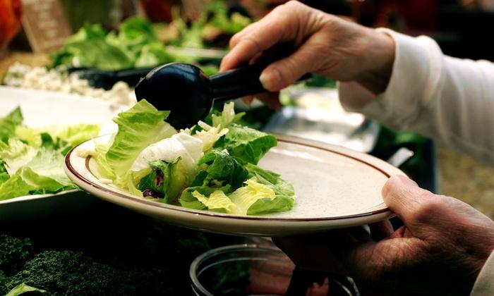 Govinda's Vegetarian Buffet - River Road: Vegetarian Buffet for Two at Govinda's Vegetarian Buffet (40% Off)
