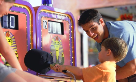 $33 for Package for Four with Pizza and Game Tokens at Playtime Party Center ($64.73 Value)