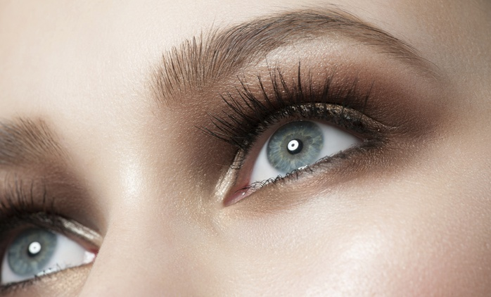 From $35 for a Set of Silk Eyelash Extensions and Brow-Shaping at Koos Beauty, Albany (From $145 Value)