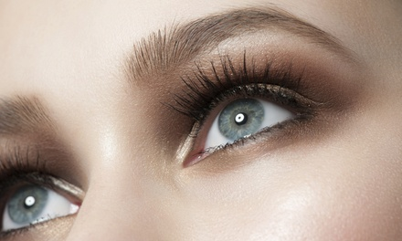 Eye Makeup at Permanent Makeup by Terri at Hot Heads Hair Salon (Up to 51% Off). Three Options Available.