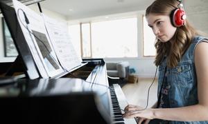 Asd 5678 studio: 4 o 8 lezioni individuali di musica per pianoforte o fisarmonica all'associazione 5678 Studio (sconto fino 66%)
