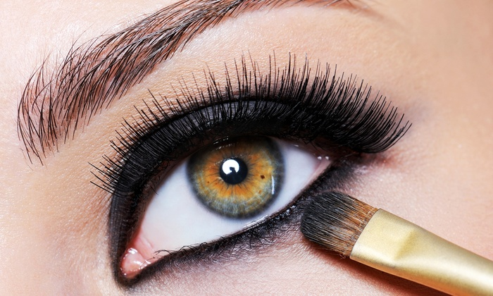 Makeup By Sharon Kaye - Foxxy Beauty Suites: Eyelash Extensions with Optional Re-Lash at Makeup By Sharon Kaye (Up to 63% Off). Two Options Available.