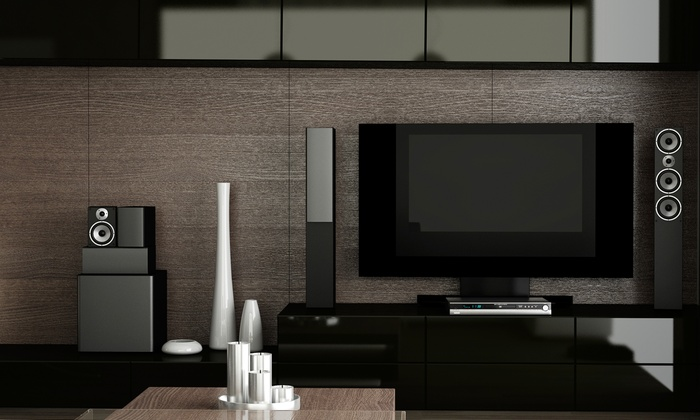 Smooth Waves - Houston: TV Wall-Mounting or Home Theater Installation from Smooth Waves (Up to 61% Off)