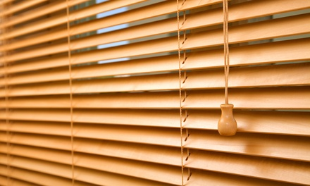 Blinds and Shades at 1-800-4Blinds (Up to 76% Off). Three Options Available.