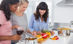 Cooking with Kelsie: BYOB Basic Cooking Class for Two or Four at Cooking with Kelsie (55% Off)