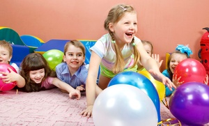 We Rock The Spectrum Kids Gym: Three Open-Play Sessions for One or Two Kids or Birthday Party at We Rock The Spectrum Kids Gym (Up to 56% Off)