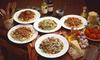 Spaghetteria al Fiore - SPAGHETTERIA AL FIORE: Giropasta di 4 portate a scelta e calice di vino per 2 o 4 persone da Spaghetteria al Fiore (sconto fino a 57%)