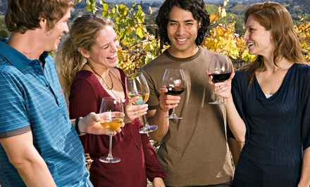 $74 for Winery Tour from RoundTrip Tours with Transportation ($148 Value). 15 Options Available.