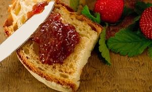 Récollets: Petit-déjeuner vegan complet avec jus de fruits, café/thé et cava chez Récollets à Anvers (àpd 2 personnes)