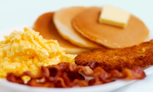 Me & D's Diner: Comfort Food at Me & D's Diner (Up to 50% Off). Three Options Available.